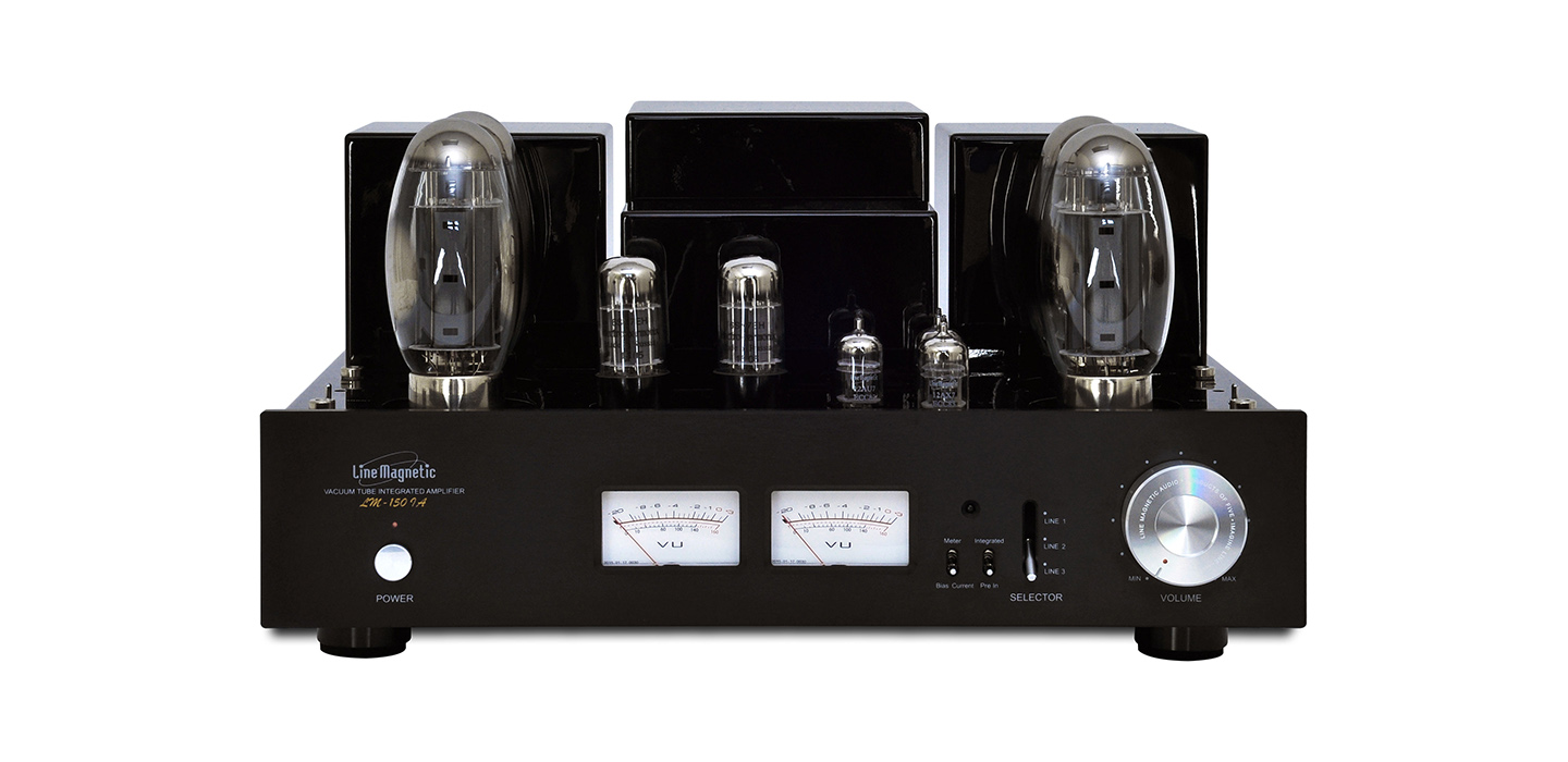 Lm 150ia Integrated Tube Amplifier Push Pull Kt150 2x100w Monoblock Amplifiers
