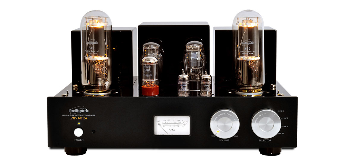LM-845iA Integrated tube amplifier - Single Ended 845 - 2x22W