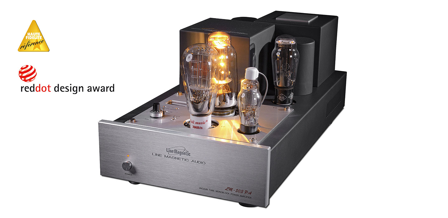 Lm 503pa Monoblock Power Amplifier Single Ended 845 Drivers 310a High Quality 1x24w